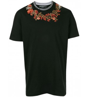 Embroidered Floral T-Shirt